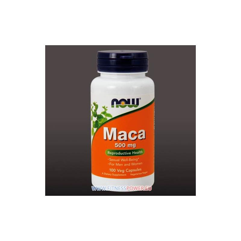 NOW Maca 500 mg Veg Capsules