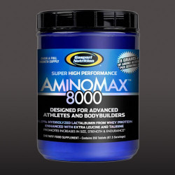 Gaspari Nutrition AminoMax 8000, 350 Tablets