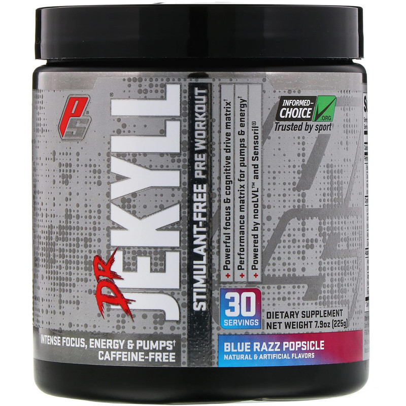 ProSupps, Dr Jekyll, Stimulant-Free Pre-Workout
