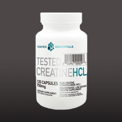 Tested Creatin HCL   120kap.