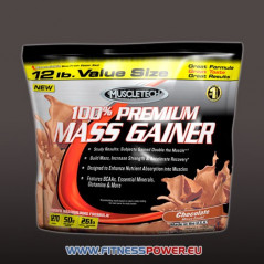 Muscletech 100% Premium Mass Gainer 5,45kg.