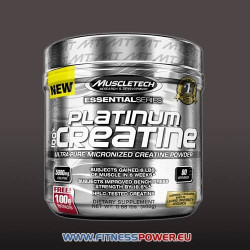 MUSCLETECH PLATINUM 100% CREATINE  ULTRA-PURE MICRONIZED CREATINE POWDER